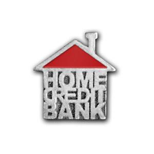 Серебряные значки к юбилею Home Credit & Finance Bank