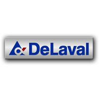 Корпоративный значок компании ДеЛаваль