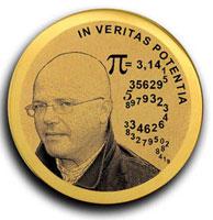 Юбилейная медаль фирмы Луидор 5 лет