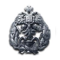 Серебряный нагрудный знак ДОКТОР МЕДИЦИНЫ  Императорская Военно-Медицинская Академия.