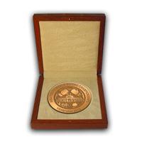Наградные медали международного чемпионата AIBA по боксу 2012 год Ереван в футляре
