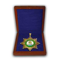 Именной почётный знак За гражданские заслуги  I  степени в футляре