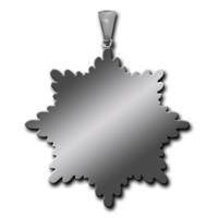 Реверс Именной почётный знак За гражданские заслуги  II  степени