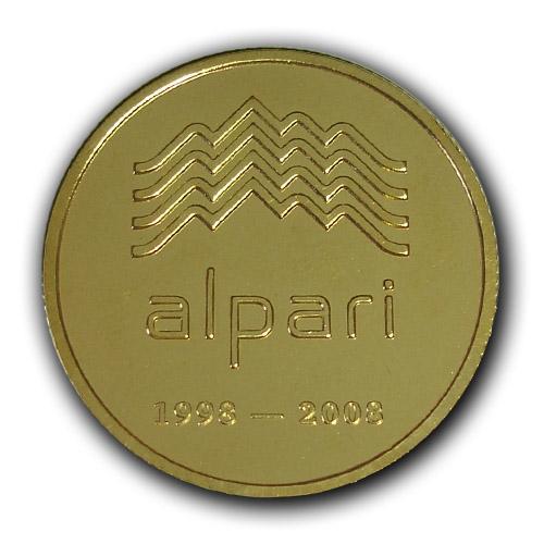 Корпоративная медаль Компании Альпари