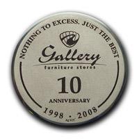 Юбилейные медали в честь 10-летия  Компании Gallery