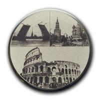 Юбилейная медаль с лазерной гравировкой  Компании Gallery 10 лет
