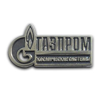 Корпоративный значок ОАО Газпром космические системы