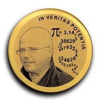 юбилейная медаль с лазерной гравировкой изготовлена по заказу фирмы Луидор в честь 5-летия юбилея компании.