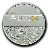 Корпоративная серебряная медаль Банка ВТБ24