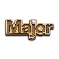 Нагрудный знак MAJOR - изготовленный на заказ