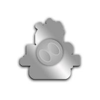 Серебряные значки в честь 20-летия ЭкспоМедиаГруппа Старая крепость